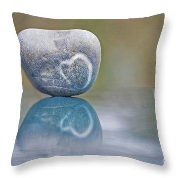 Eternal Imprint Throw Pillow by Maria Ismanah Schulze-Vorberg