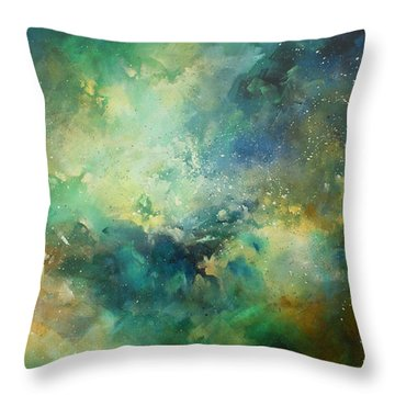 'eternity' Throw Pillow by Michael Lang