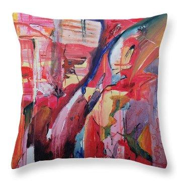 Euskadi Throw Pillow by Thomas Hampton