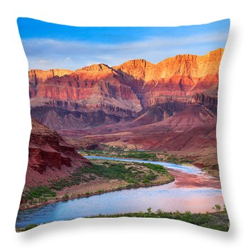 Evening At Cardenas Throw Pillow by Inge Johnsson