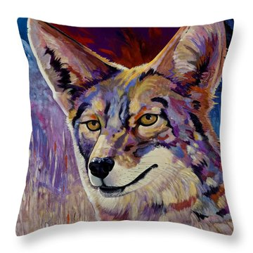 Evening Hunt Throw Pillow by Bob Coonts