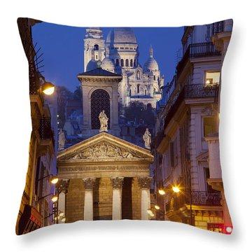 Evening In Paris Throw Pillow by Brian Jannsen