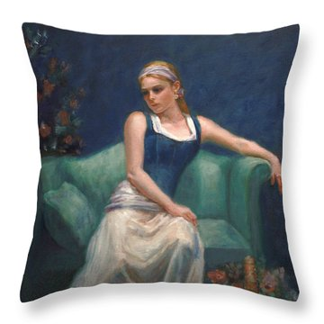 Evening Repose Throw Pillow by Sarah Parks