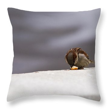 Every Day Brings Its Own Bread - Featured 3 Throw Pillow by Alexander Senin