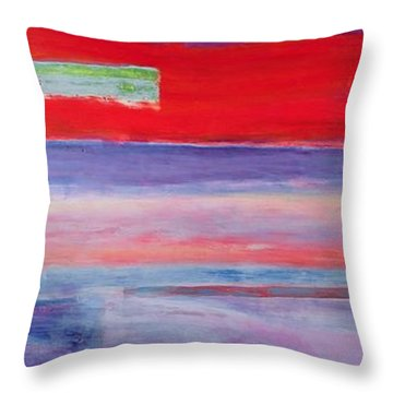 Everybody I Never Slept With Throw Pillow by Lou Gibbs
