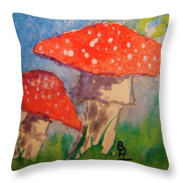 Everything Gets Brighter Throw Pillow by Beverley Harper Tinsley