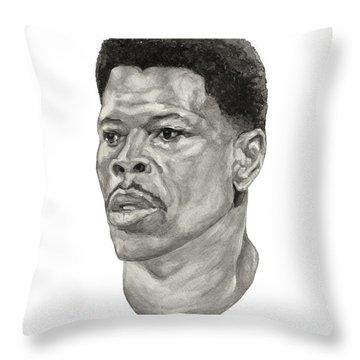 Ewing Throw Pillow by Tamir Barkan