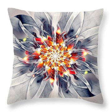 Exquisite Throw Pillow by Anastasiya Malakhova