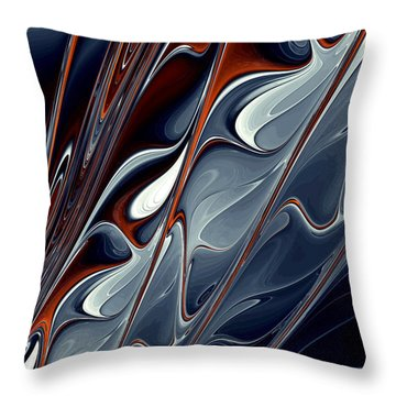 Extinguish Throw Pillow by Kevin Trow