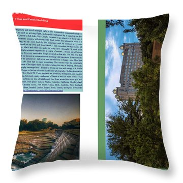 Eye On Photography Throw Pillow by Joan Carroll