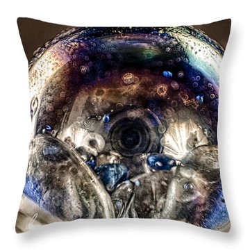 Eyes Of The Imagination Throw Pillow by Omaste Witkowski