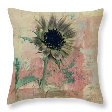 Faded Love Throw Pillow by Janice Westerberg