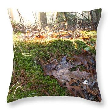 Fairy Mound Throw Pillow by Lynn-Marie Gildersleeve