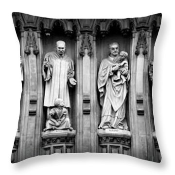 Faithful Witnesses Throw Pillow by Stephen Stookey