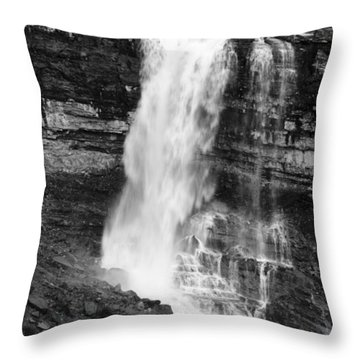 Fall Under The Bridge Throw Pillow by Crystal Wightman