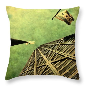 Falling Up Throw Pillow by Andrew Paranavitana