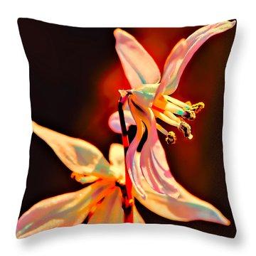 Fantasia Throw Pillow by Leif Sohlman