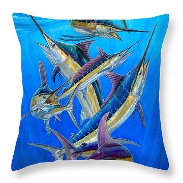 Fantasy Slam Throw Pillow by Terry Fox