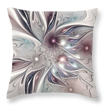 Farplane Throw Pillow by Anastasiya Malakhova
