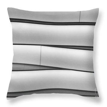 Faux Bamboo Throw Pillow by Sabrina L Ryan