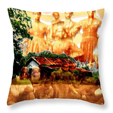 Feels Like Home Throw Pillow by Seth Weaver