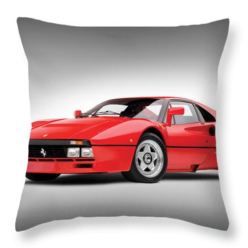 Ferrari 288 Gto Throw Pillow by Gianfranco Weiss