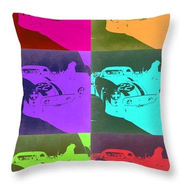 Ferrari Gto Pop Art 3 Throw Pillow by Naxart Studio