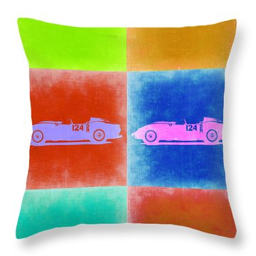 Ferrari Testarossa Pop Art 2 Throw Pillow by Naxart Studio
