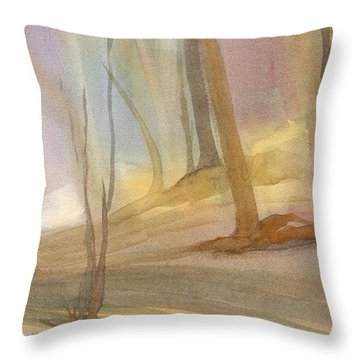 Field Day Throw Pillow by Kris Parins
