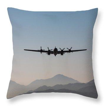 Fifi Rising Throw Pillow by John Daly