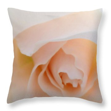 Finding Inner Peace Throw Pillow by Steve Taylor