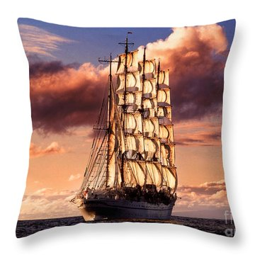 Fine Art Untitled No.03 Throw Pillow by Caio Caldas