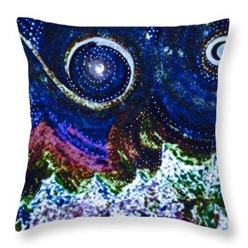 First Star Magic Sky By Jrr Throw Pillow by First Star Art
