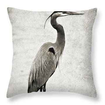 Fishing From The Dock Throw Pillow by Scott Pellegrin