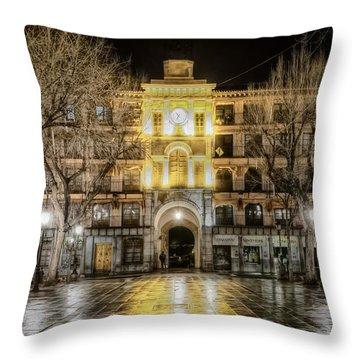 Five Till Seven Throw Pillow by Joan Carroll