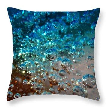 Fizzin Throw Pillow by Joseph Baril