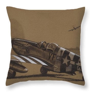 Flying Dutchman Throw Pillow by Wade Meyers