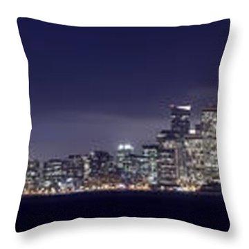 Fog City San Francisco2 Throw Pillow by Mike Reid