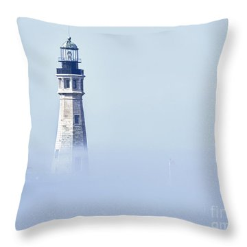 Fog Throw Pillow by Phil Pantano