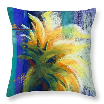 For Those Who Wait Throw Pillow by Tracy L Teeter