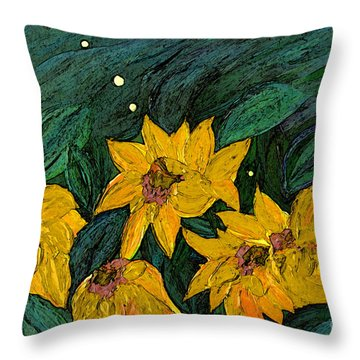 For Vincent By Jrr Throw Pillow by First Star Art