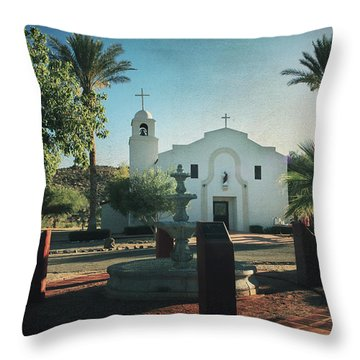 For Whom The Bell Tolls Throw Pillow by Laurie Search