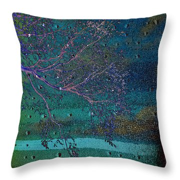 Forgetting Throw Pillow by Jan Amiss Photography