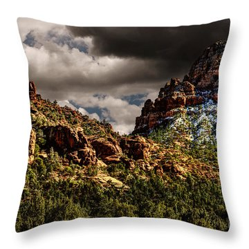 Four Seasons Throw Pillow by Jon Burch Photography
