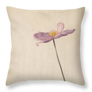 Fragility Throw Pillow by Amy Weiss