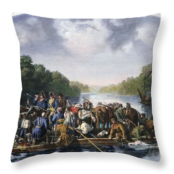 Francis Marion (c1732-1795) Throw Pillow by Granger