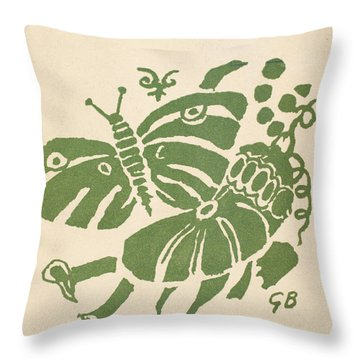 Francis Ponge: Proemes Throw Pillow by Granger