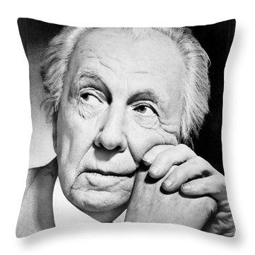 Frank Lloyd Wright Throw Pillow by Granger