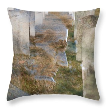 Freedom Throw Pillow by Jim Cook