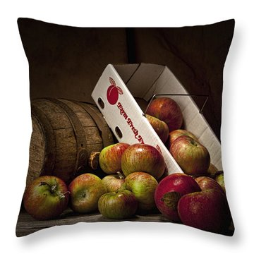 Fresh From The Orchard I Throw Pillow by Tom Mc Nemar